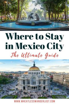 Heading to Mexico City? First of all, I'm jealous. Second of all, here's what you need to know to pick the perfect area to stay in. My 3 favorite neighborhoods in CDMX, and places to stay in each. Best Boutique Hotels, Best Hotels, World Of Wanderlust, Venice Travel, Places To Travel, Travel Destinations, Travel Tips, Mexico City, Travel Around The World