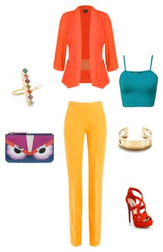 set3 by kryli4ka on Polyvore featuring polyvore, fashion, style, WearAll, City Chic, Victoria, Victoria Beckham, Prada, Fendi, Tiffany & Co., Delfina Delettrez and clothing