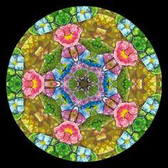 Mosaic Egg Shell Art by Heart Windows Art, via Flickr
