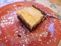 Skinny Sweets Daily: Fantastic Low Fat, Low Calorie Pumpkin Cheesecake Brownies