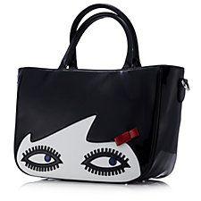 Lulu Guinness Doll Face Wanda Bag