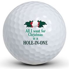 Christmas Hole in One Golf Balls (number one on my wish list :)
