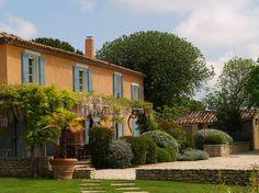 Sud Luberon : Mas du XVIIIème siècle à 25 minutes d'Aix-en-Provence, Vue splendide