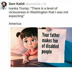 And poor people. And Mexicans. And women. And everyone else! Except Vladimir Putin. 😡