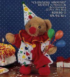 The Wombats, Cute Clown, Clowning Around, Cartoon Memes, Clowns, Plushies, Vintage Toys, Art Inspo, Cute Animals