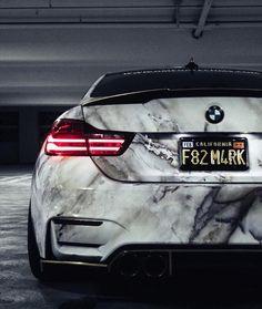 """1,637 Likes, 15 Comments - BMW M4 Club (@bmwm4club) on Instagram: """"Another 1 of 1 wrap @f82m4rk Marble @s3c_usa #bmwm4club #bmw #bmwm #bmwm3 #bmwm4 #cargram…"""""""