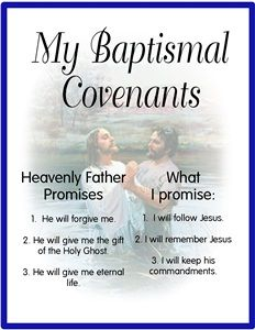 Baptism Covenant Poster This is a 8 x 10 poster that I print off and laminate and give to the kids at the Baptism fireside also, I tell them to hang it in there room all year long, even before they get Baptized to help them remember about the…Read More