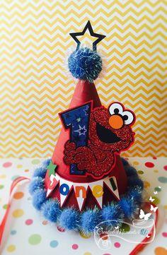 Elmo's Birthday Party Hat