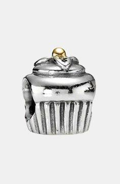 Pandora | PANDORA Cupcake Charm #pandora #cupcake #charm