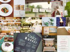 My natural wedding inspiration {1} | The Natural Wedding Company