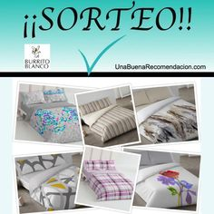 Sorteo Juego Funda Nórdica Burrito Blanco diseño y tamaño a elegir