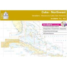 NV-Charts Reg. 10.2 - Cuba - Northwest: Varadero - Havanna to Cabo San Antonio - £99