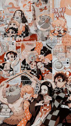 """✫ Lockscreens ✫ Anime: Kimetsu no Yaiba ✫ Grupo: Tanjirou, Nezuko, Zenitsu e Inosuke ✫ Like/RT se salvar ✫ Print se usar ✫ Não repostar / bren 😎"" Otaku Anime, Art Anime, Anime Kunst, Manga Anime, Wallpaper Animes, Cute Anime Wallpaper, Animes Wallpapers, Cute Wallpapers, Anime Backgrounds Wallpapers"