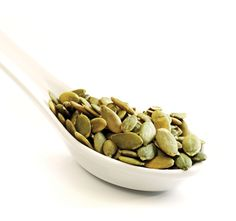 Health tip: Stash pumpkin seeds in your desk drawer - they can ward off anxiety and are rich in zinc, a natural antidepressant.