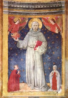 ❤ - BENOZZO GOZZOLI (1421 - 1497) - St Anthony of Padua - Santa Maria d' Aracoeli, Rome.