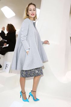 All of the best-dressed attendees spotted front row at Paris Couture Week. Leelee Sobieski at Christian Dior.