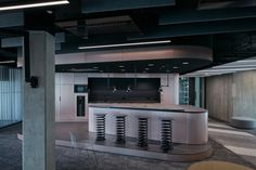 LIVESPORT – Offices Like A Machine Driven By Pilots - Picture gallery 1 Office Interior Design, Office Interiors, Architectural Technologist, Cafe Seating, Flexible Working, Dynamic Design, Business Events, Acoustic Panels, Commercial Interiors
