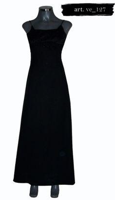 Encuentra Vestido Largo Color Negro Liz Minelli - Ropa dcbd080e1940