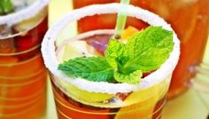 Non Alcoholic Mojito - Fab Food 4 All Non Alcoholic Mojito, Yummy Drinks, Lemonade, Fruit, Party, Desserts, Dressings, Sauces, Food