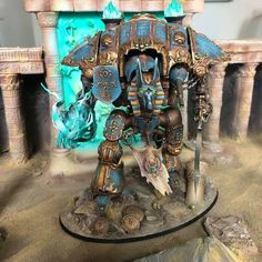 Knight Models, Thousand Sons, Imperial Knight, War Hammer, Warhammer 40k Miniatures, Knights, Awesome, Painting, Ideas
