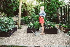 Gravel Garden, Fruit Garden, Garden Planters, Garden Beds, Vegetable Garden, Home And Garden, Diy Exterior, My Secret Garden, Permaculture