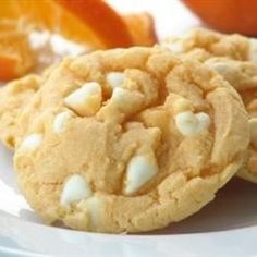 Orange and vanilla flavored cookies that make a wonderful gift.