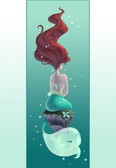 Little Mermaid LOVE THIS I want this as a tattoo