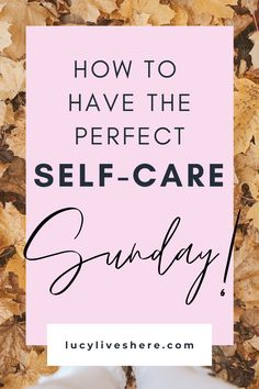 Want your Sunday to be productive and restful at the same time? You've come to the right place! My perfect Sunday time combines self-care with simple productivity tips to ensure you get the most out of your week. Create your perfect self-care Sunday routine today! Rest, recharge, and have a great week! #selfcare #sundayroutine #recharge