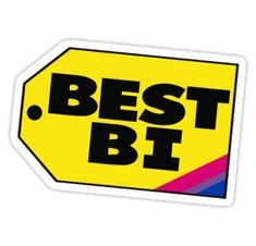 Lgbt stickers featuring millions of original designs created by independent artists. Bisexual Pride, Gay Pride, Bi Memes, Friends, Hardware Stores, Ace Hardware, Random, Feminism, Bi Flag