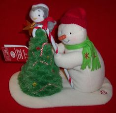 10 Best Hallmark Plush Singing Snowmen Images In 2017 Snowman