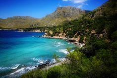 Mallorca, Cala, blue sea, blauwe zee,