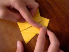 ▶ How to make an Origami Angel - YouTube
