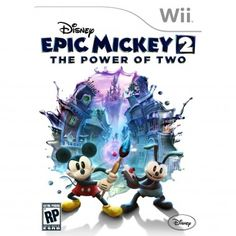 Disney Epic Mickey 2, $50   Best Wii Games for Kids This Christmas - Parenting.com