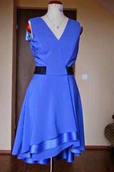 Blue Summer Dresses, Sewing, Blue, Fashion, Moda, Dressmaking, Summer Sundresses, Couture, Fashion Styles
