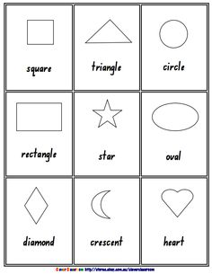 """FREE MATH LESSON - """"2D 3D Shape Posters Black and White Ebook - 26 pages"""" - Go to The Best of Teacher Entrepreneurs for this and hundreds of free lessons. http://thebestofteacherentrepreneurs.blogspot.com/2012/02/free-math-lesson-free-2d-3d-shape.html"""