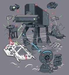 La Guerre des Consoles en 1 image