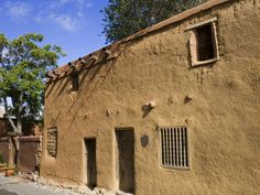 Oldest House in the USA on the Old Santa Fe Trail, Santa Fe, New Mexico by Richard Cummins