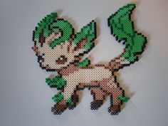 Leafeon by 8-BitBeadsStudio