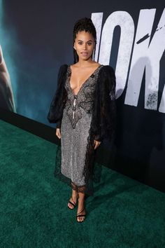 Zazie Beetz, Dresses With Sleeves, Long Sleeve, Sexy, How To Wear, Attitude, Beautiful, Sisters, Fashion