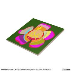 NOVINO One CUTE Flower : Graphics Tile