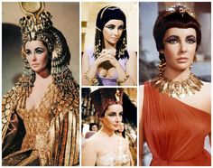 The @CannesFilmFestival celebrates @Elizabeth Taylor's starring role as #Cleopatra. 26,000 costumes = indefinite #fashion #inspiration