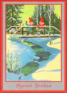 Olavi Vikainen Make Believe, Fairy Land, Gnomes, Elves, Troll, Woodland, Friends, Fairies, Christmas