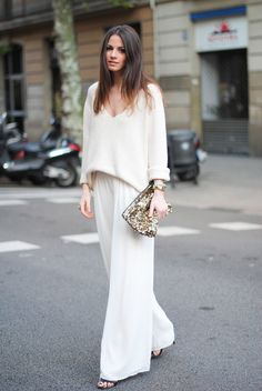 White layers.