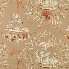 Pattern #200012H - 90 | From the Archives | Bailey & Griffin Fabric by Duralee/bedroom