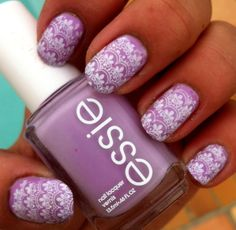 lavender nail polish for this summer. so yummy with a tan (: