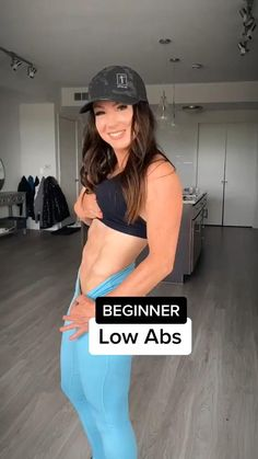 Full Body Gym Workout, Lower Belly Workout, Gym Workout Videos, Gym Workout For Beginners, Lower Ab Workouts, Abs Workout Routines, Fitness Workout For Women, Fitness Workouts, Workout Ideas
