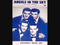 The Crew Cuts - Angels in the Sky - 1955