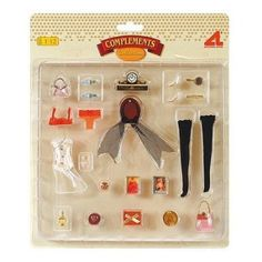 Artesania - 82054 - Accessories for Doll House - Set of woman accessories : ... | eBay