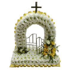 3d funeral tribute, Gates of Heavan