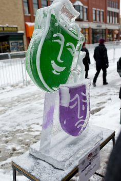 Ice sculptures #tcff